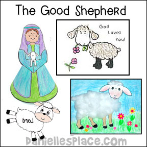 The Good Shepherd Bible Sample Bible Lesson for Children from www.daniellesplace.com
