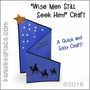 Wise Men Folded Craft for Christmas