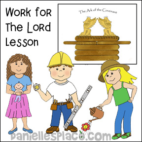 Work for the Lord Bible Crafts for Children's Ministry
