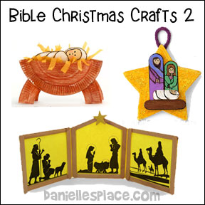 Bible Christmas Craft Page 2 - Christmas Crafts for Sunday School from www.daniellesplace.com