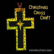 Christmas Cross Craft