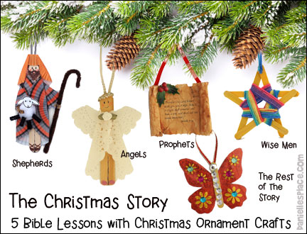 The Christmas Story Bible Lessons Series - Check out the free sample lesson on www.daniellesplace.com