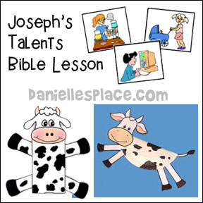Joseph Bible Crafts and Bible Lessons