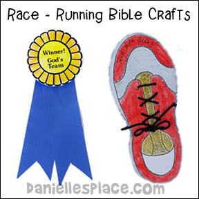 Running - Race Bible Crafts