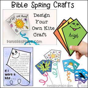 Spring Crafts for Children's Ministry and Sunday School Programs