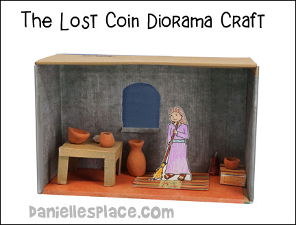 The Lost Coin diarma Craft from www.daniellesplace.com