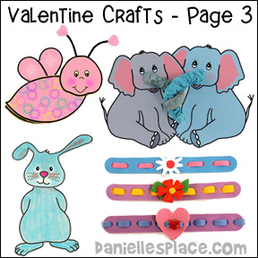 Valentine's Day Crafts Page 3 from www.daniellesplace.com