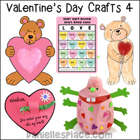 Valentine's Day Crafts for Kids Page 4