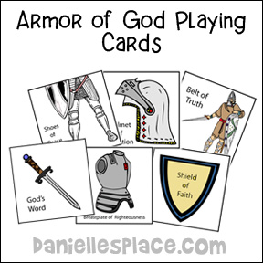 Armor of God Card Game from www.daniellesplace.com