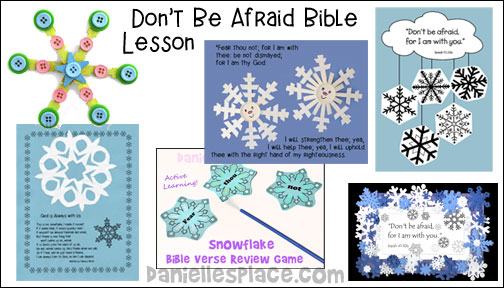 Free Winter Bible Lesson for Children - God is in Control