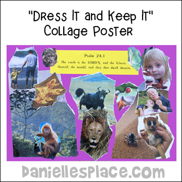 "Dress it and Keep it""  Collage Poster from www.daniellesplace.com"