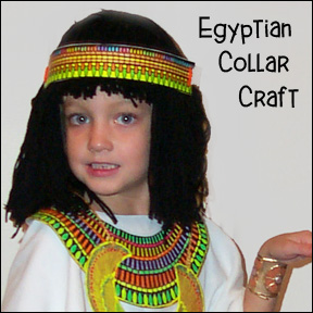 Egyptian Bead Collar Craft for Sunday School from www.daniellesplace.com