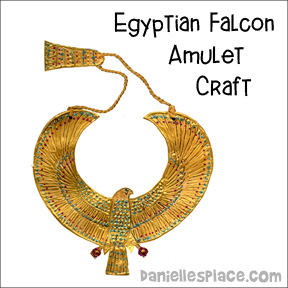 Egyptian Falcon Amulet Craft