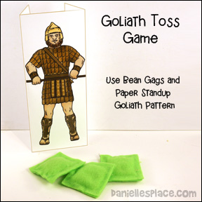David and Goliath Review Toss Game from www.daniellesplace.com