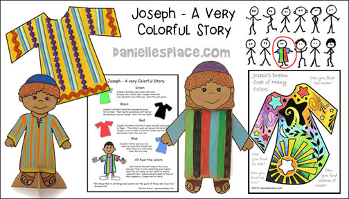 Free Sunday School Lesson For Children Joseph