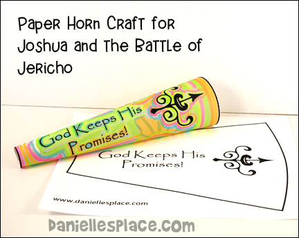 joshua and the battle of jericho craft ideas bible themes joshua 8215