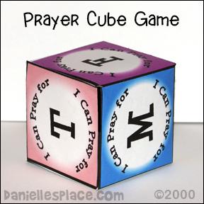 Prayer Cube Game