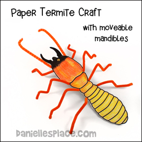 Termite Craft and Bible Verse Review