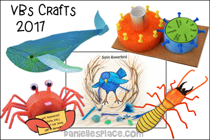 VBS Crafts 2017 from www.daniellesplace.com