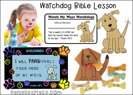 Free Watch Bible Lesson for Children from www.daniellesplace.com