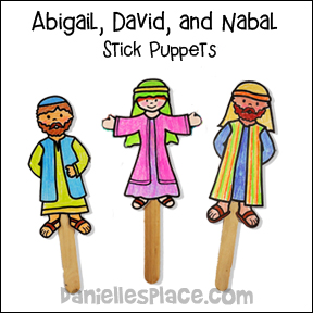 Abigail Bible Lesson Bible Crafts And Bible Games For