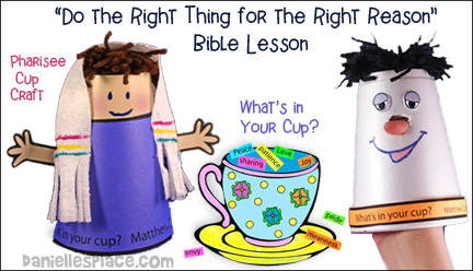 Pharisee Bible Lesson for Children from www.daniellesplace.com