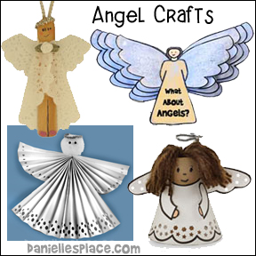 Angel Crafts for Children's Ministry