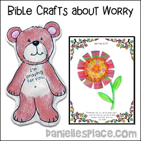 Bible Crafts About Worry