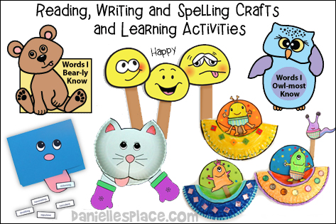 Educational Arts: Reading, Writing, and Spelling Games and Learning Activities