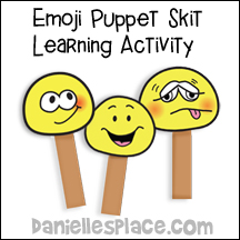 Emoji Puppets Learning Activity