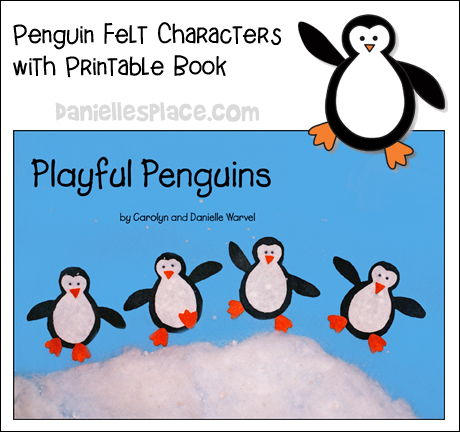 Playful Penguins Printable Book