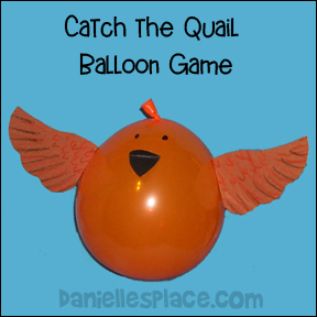 Catch the Quail Balloon Game