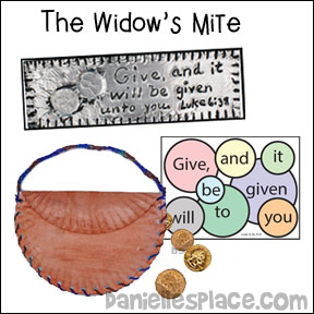 The Widow's Mite Bible Crafts and Activities