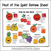 photo regarding Printable Fruit of the Spirit known as Fruit of the Spirit Bible Crafts and Bible Game titles For Sunday