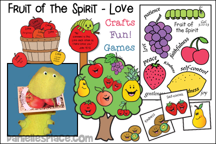 Fruit Of The Spirit Craft For Preschoolers
