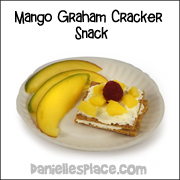 Mango Graham Cracker Snack