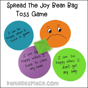 Spread the Joy Bean Bag Toss Game