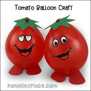 Tomato Balloon Craft