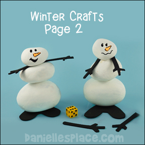 Winter Crafts for Kids Page 2