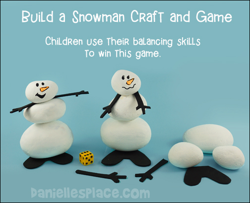 Build a Snowman Craft and Game