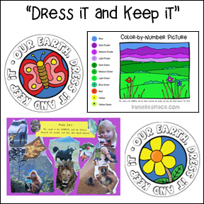 Dress it and Keep it Bible Lesson for Earth Day from www.daniellesplace.com
