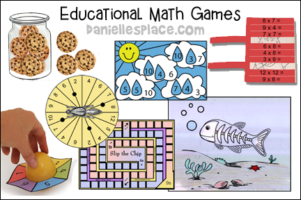 Educational Math Games and Crafts for Kids