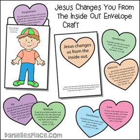 Jesus Changes You From the Inside Out from www.daniellesplace.com