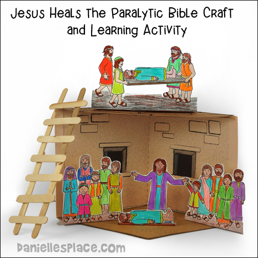 Jesus Heals the Paralyzed Man