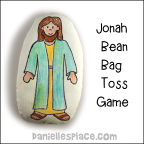 Jonah Bean Bag Toss Game