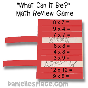 What Can it Be? Math Review Game