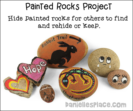 Painted Rocks Community Building  Activity