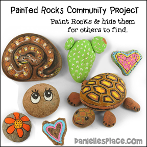 Painted Rocks Community Project