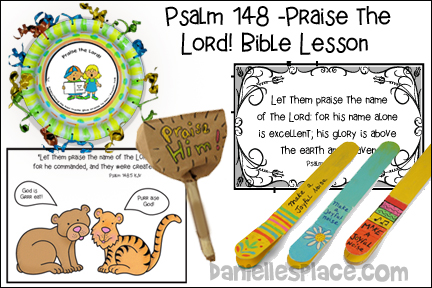 Praise Him Bible Lesson for Children from www.daniellesplace.com