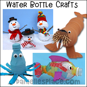 Recycled Water Bottle Crafts for Kids